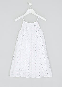 Girls Dobby Swing Dress (4-13yrs)