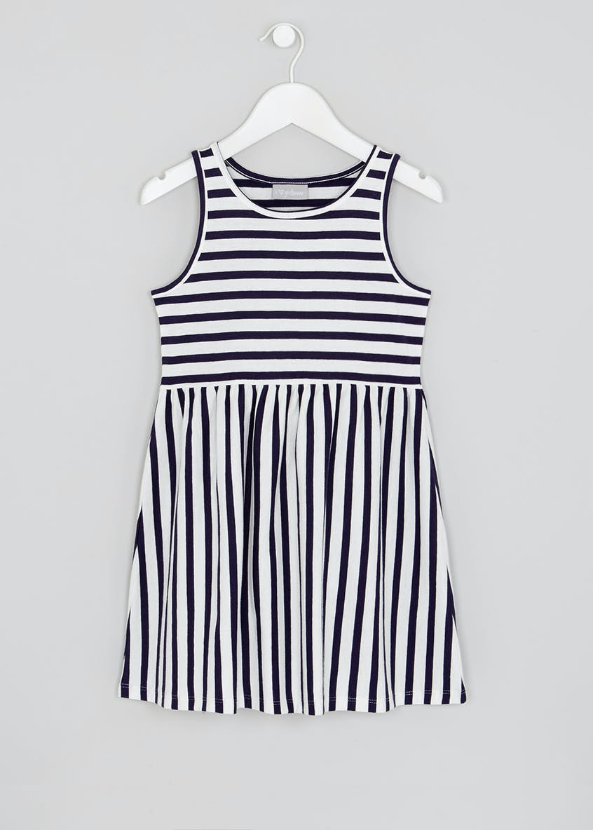 Girls Stripe Dress (4-13yrs)