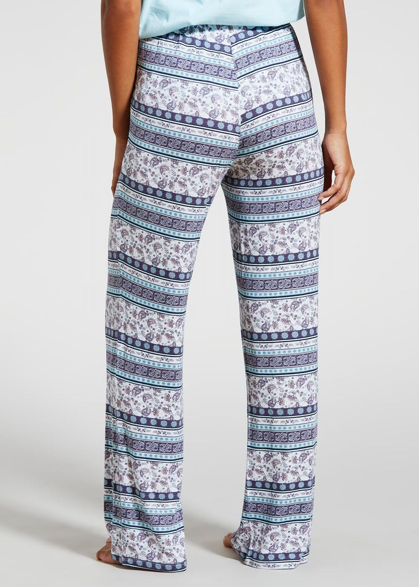 Paisley Viscose Pyjama Bottoms