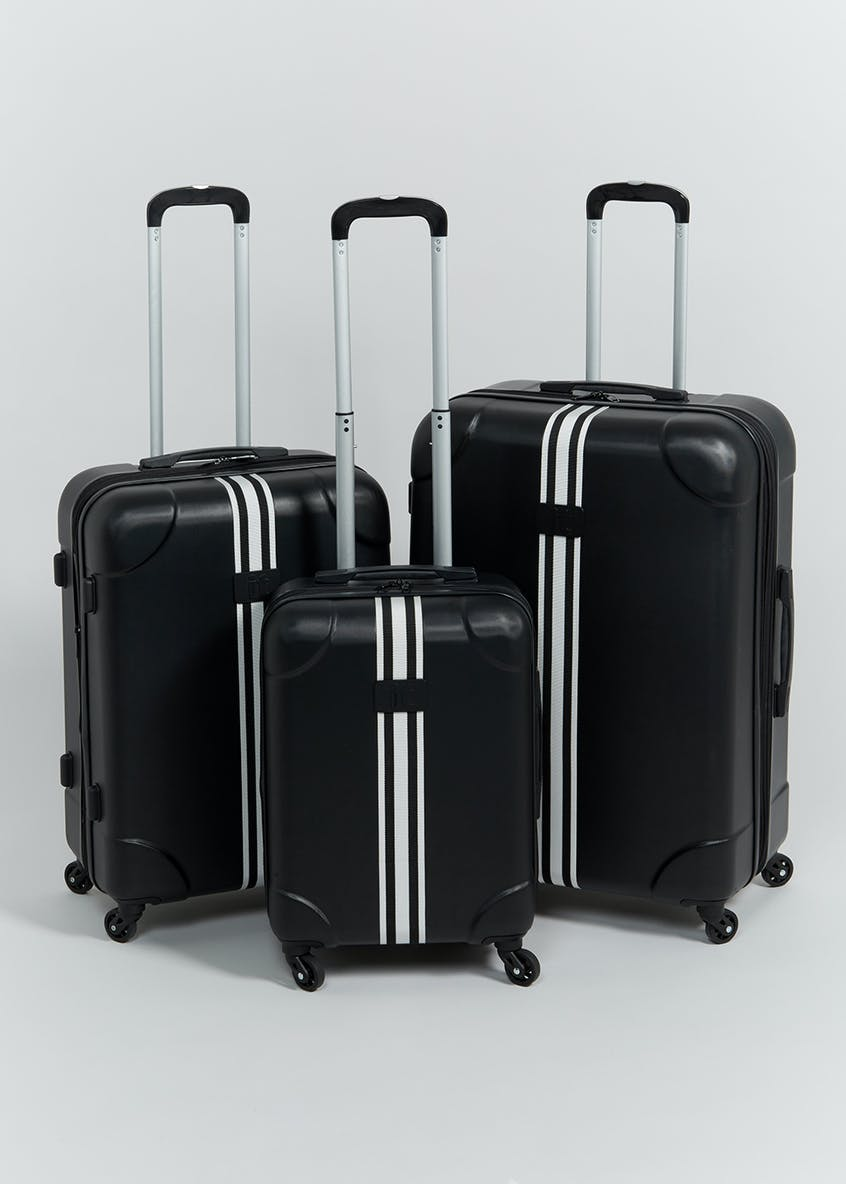 IT Luggage Stripe Web Suitcase