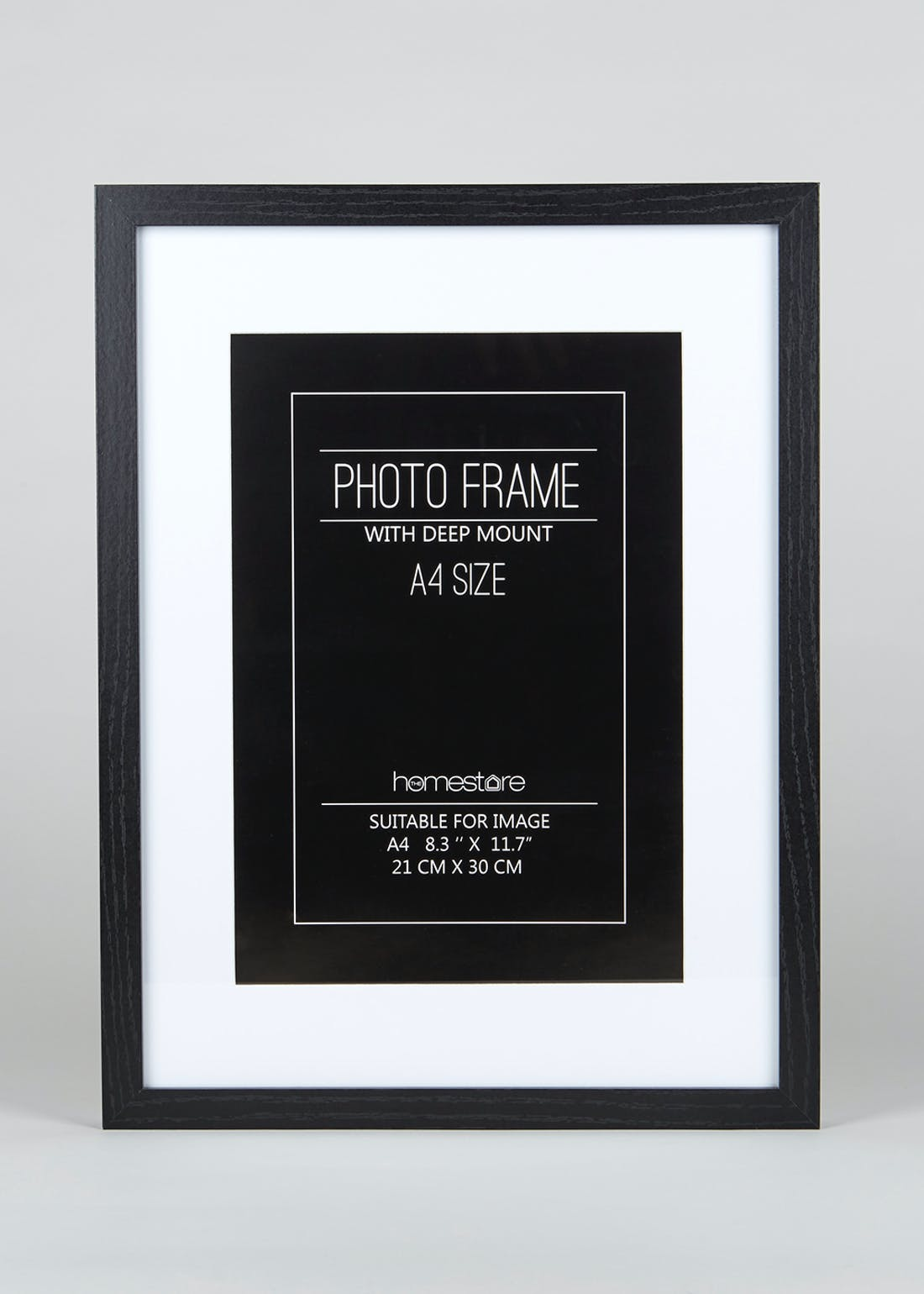 Deep Mount A4 Block Photo Frame (42cm x 32cm)