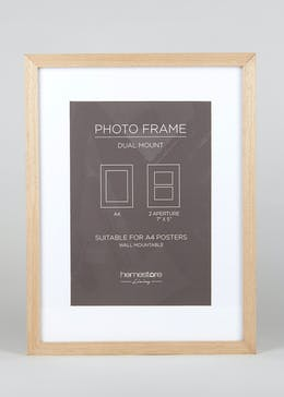 Deep Mount A4 Block Photo Frame