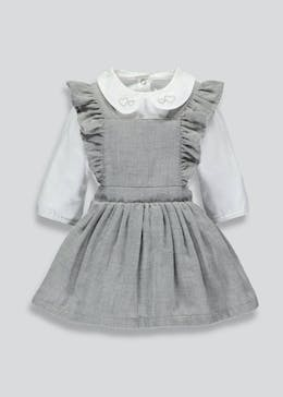Girls Dress & Bodysuit Set (Newborn-18mths)