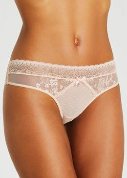 Daisy Embroidered Mini Knickers