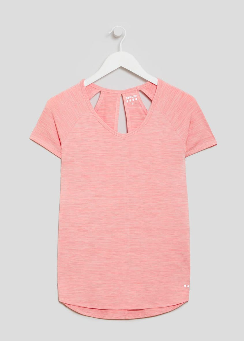 Souluxe Cut Out Detail T-Shirt