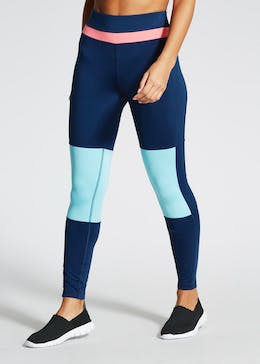 Souluxe Colourblock Gym Leggings