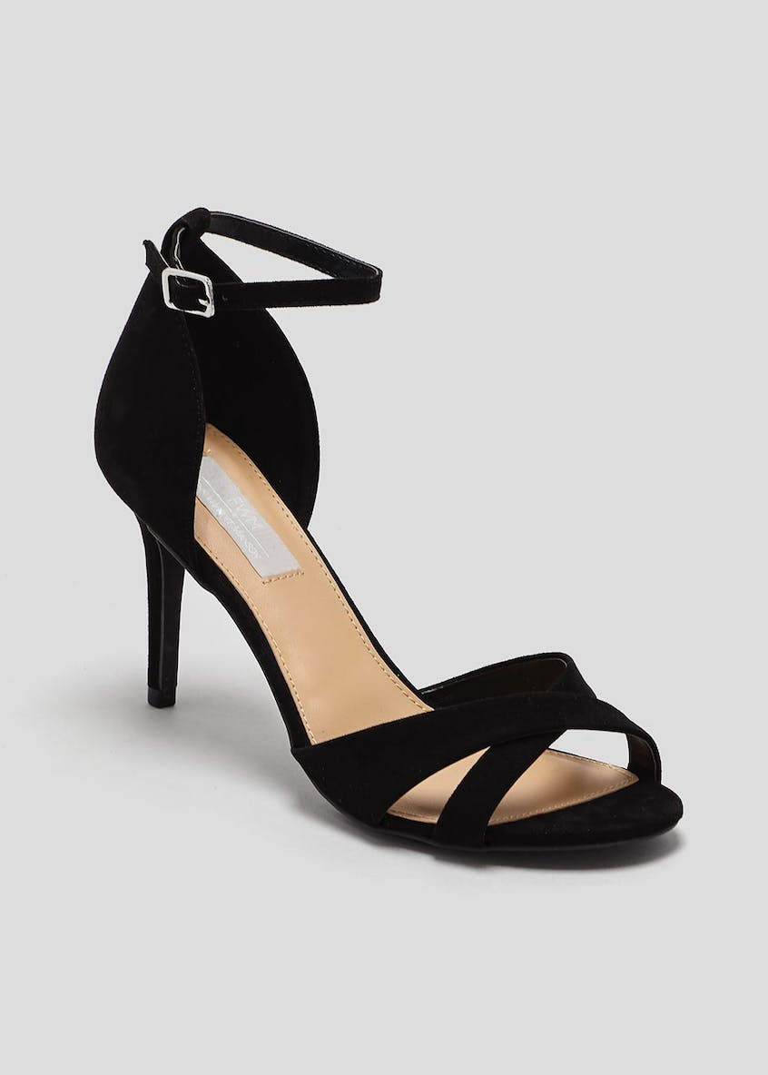 FWM Cross Front Strappy Sandals
