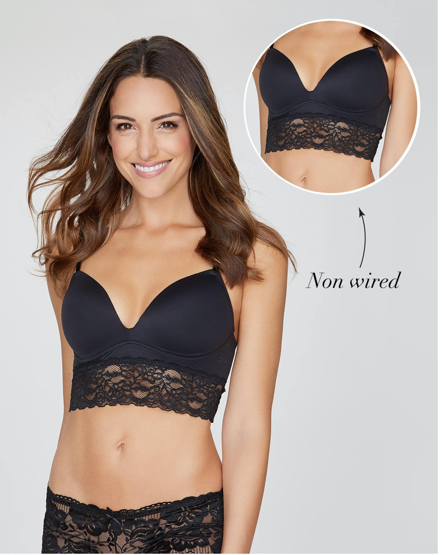 shop non wired bras