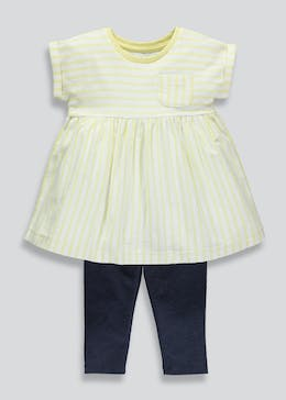 Girls Dress & Leggings Set (3mths-6yrs)