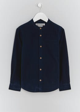 Boys Seersucker Long Sleeve Shirt (4-13yrs)