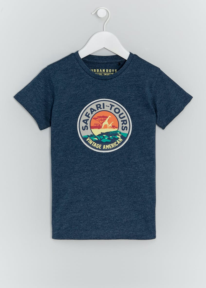 Boys Safari Tours T-Shirt (4-13yrs)