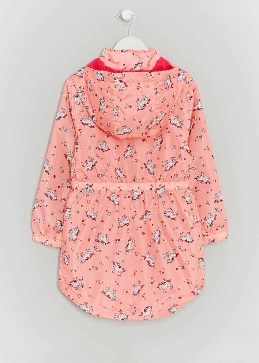 Girls Unicorn Rain Mac (4-13yrs)
