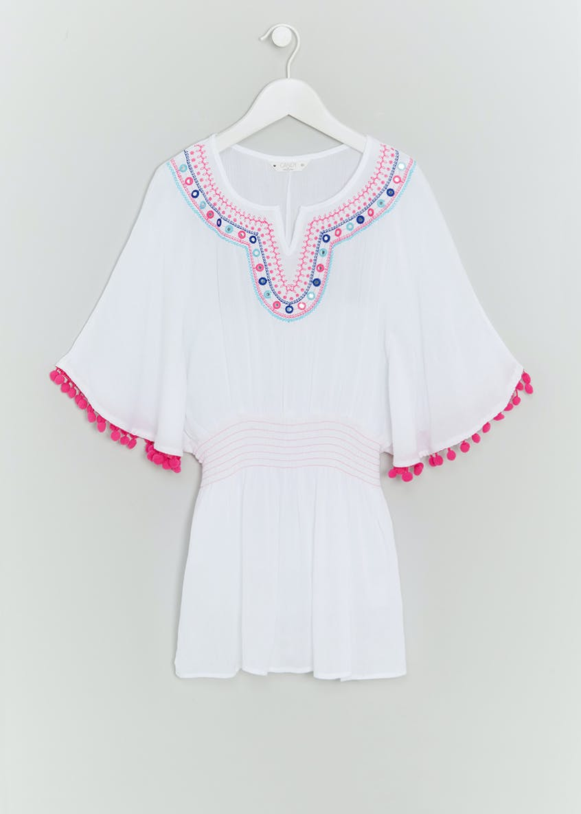 Girls Candy Couture Embellished Cover Up (9-16yrs)