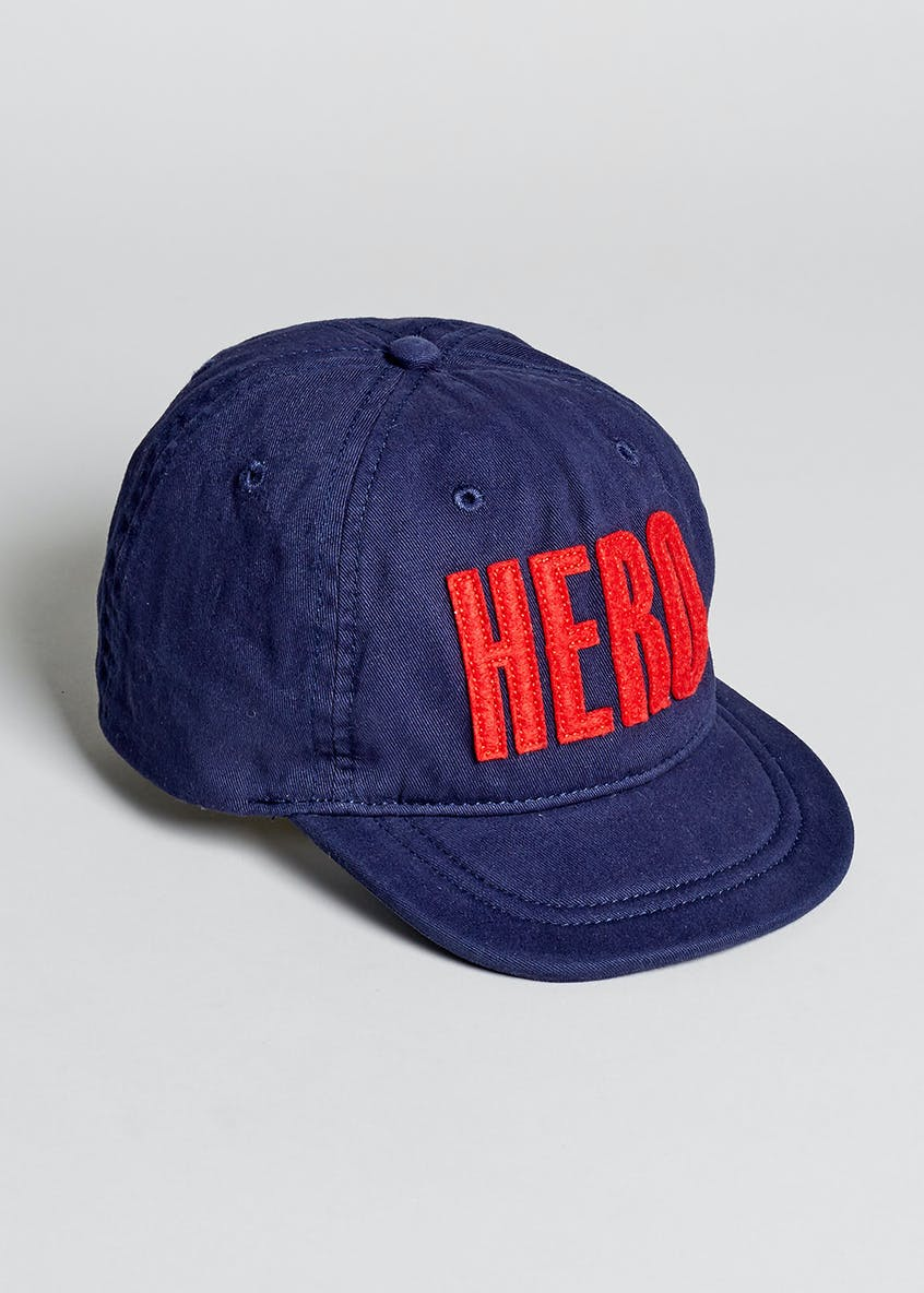 Boys Hero Slogan Cap (6mths-4yrs)