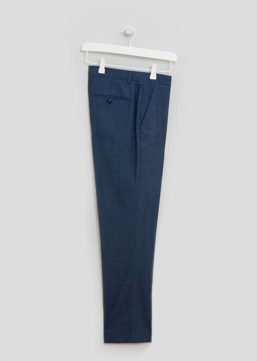 Franklin Wool Blend Slim Fit Trousers
