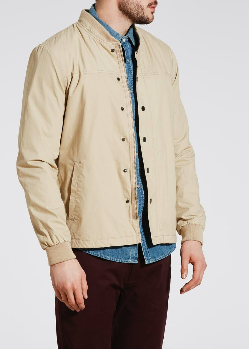 Baseball Neck Lightweight Bomber