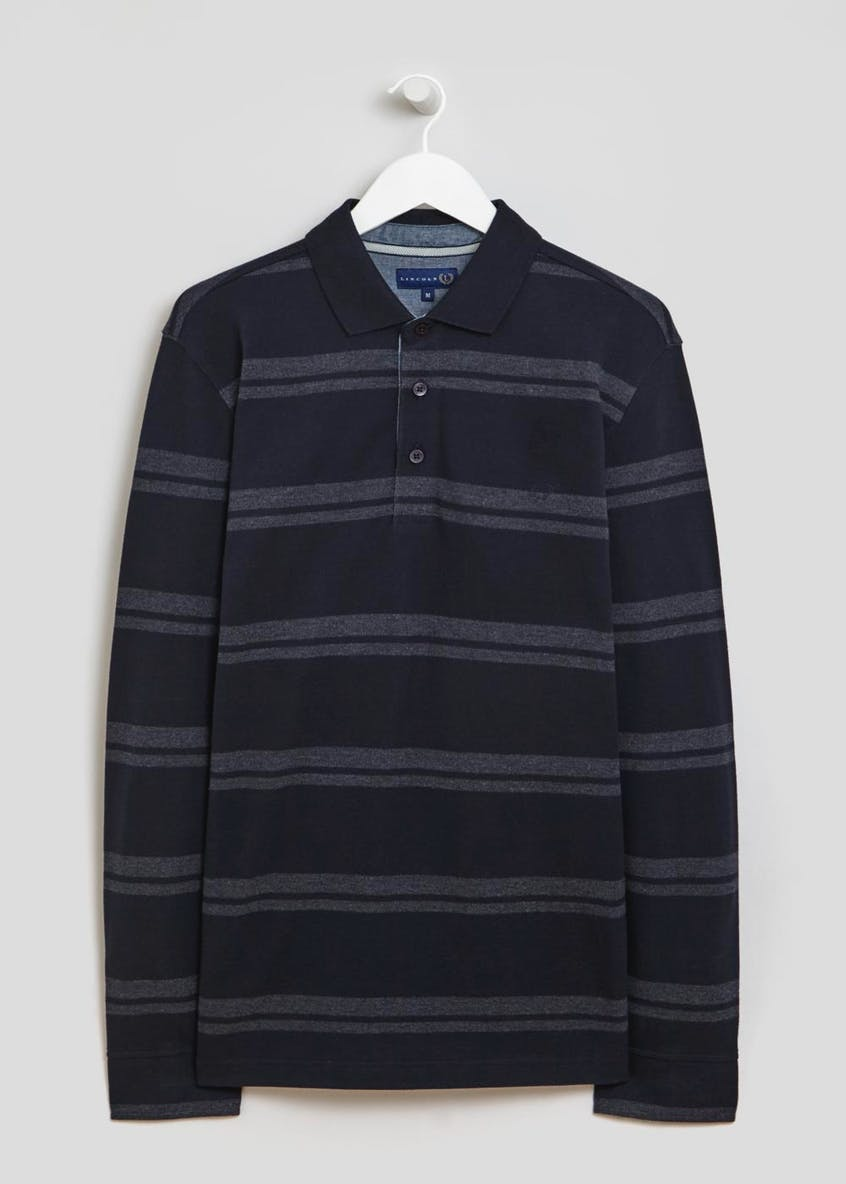 Lincoln Striped Polo Shirt
