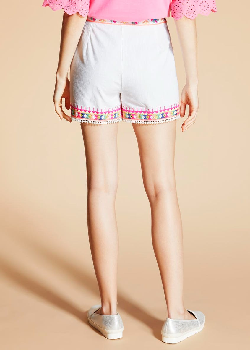 Falmer Festival Embroidered Shorts