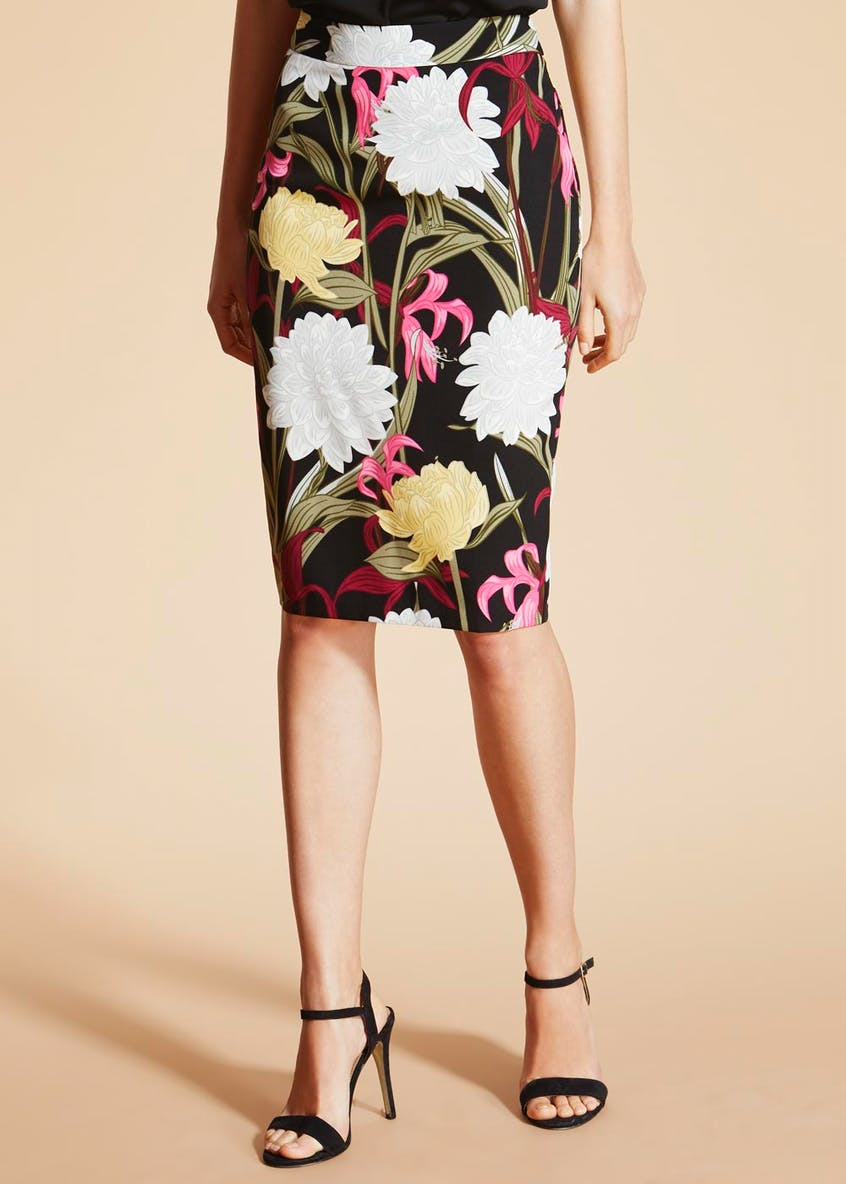 Soon Sorrento Scuba Pencil Skirt