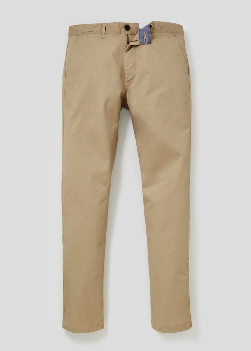 Straight Fit Stretch Chinos
