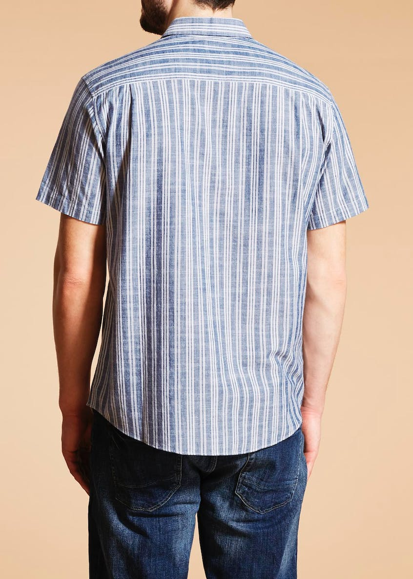 Lincoln Short Sleeve Stripe Shirt