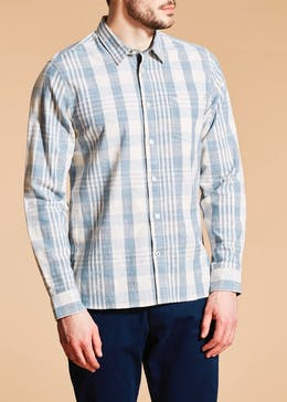 Morley Long Sleeve Check Mark Shirt