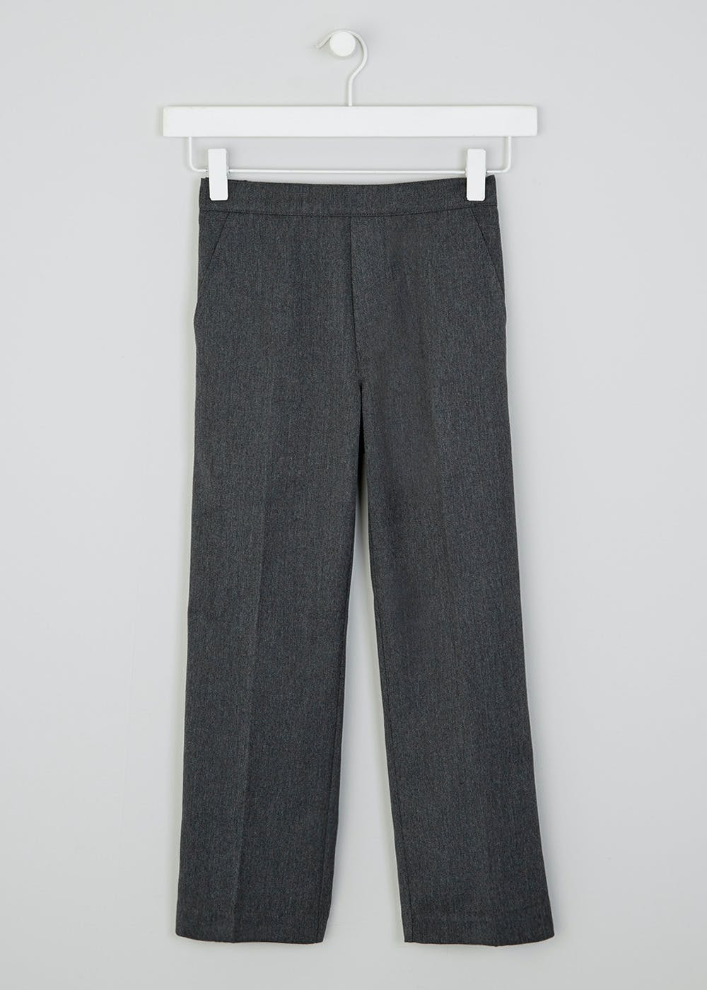 Boys Classic Fit Pull On School Trousers 3 11yrs