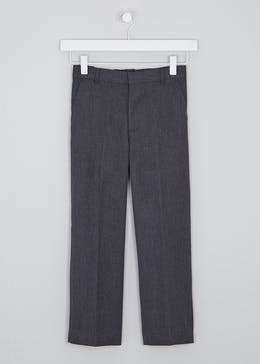 Boys Classic Fit School Trousers (3-13yrs)