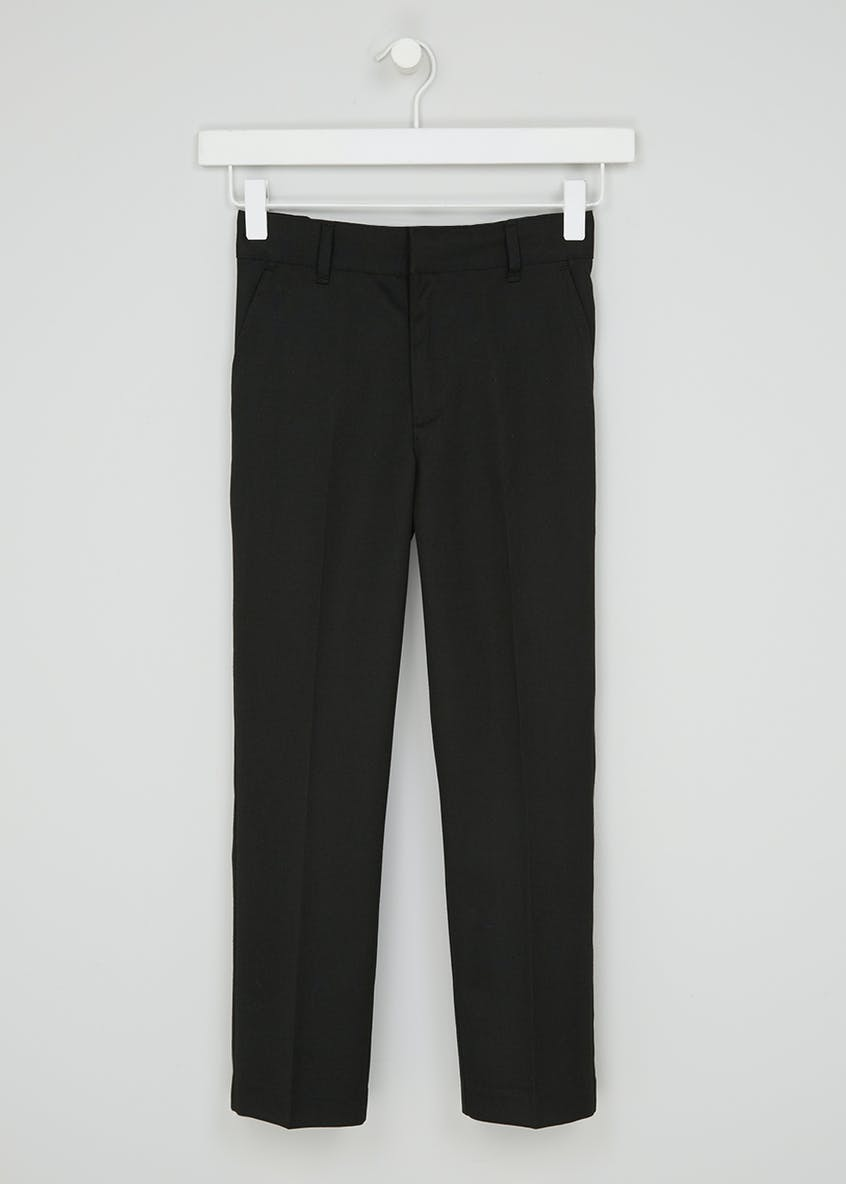 Boys Slim Fit School Trousers (3-16yrs)