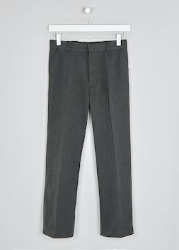 Boys Generous Fit School Trousers (10-13yrs)