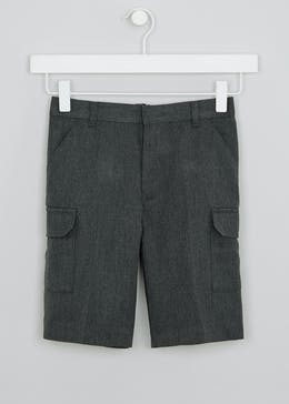 Boys Cargo School Shorts (4-13yrs)