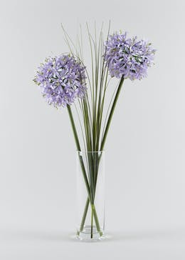Lilac Allium in Vase