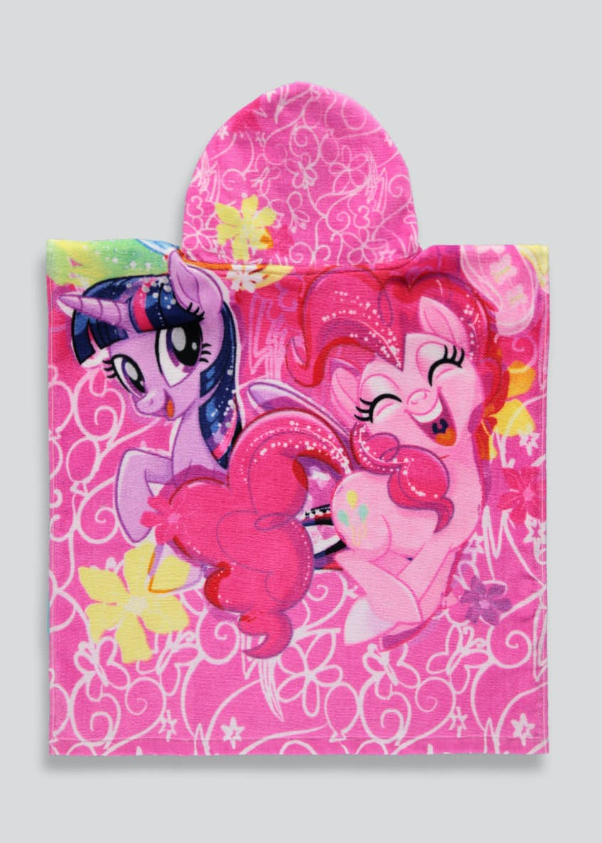 Kids My Little Pony Hooded Towel Poncho (One Size)