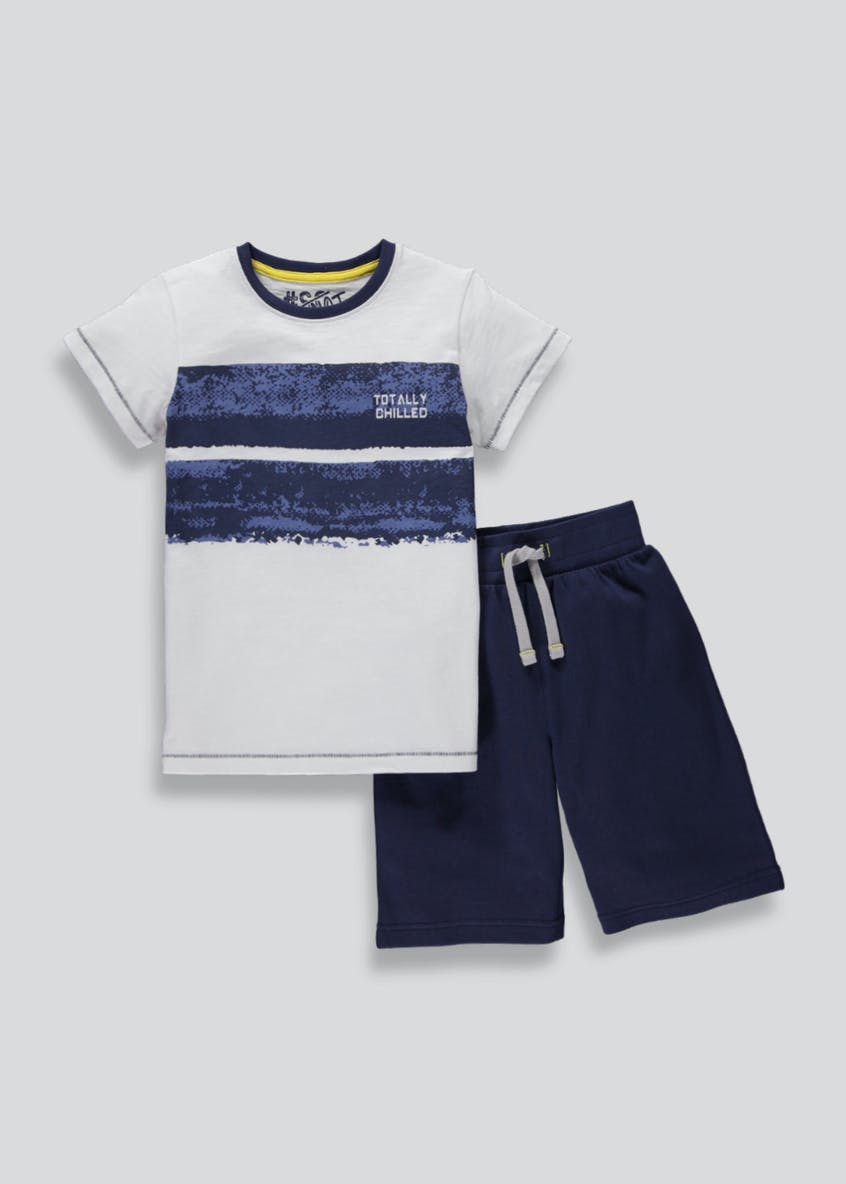 Boys Short Pyjamas (4-13yrs)