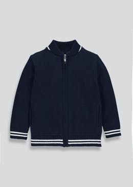 Boys Premium Baseball Cardigan (3mths-6yrs)