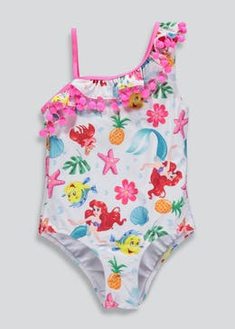 Girls Ariel Swimming Costume (2-9yrs)