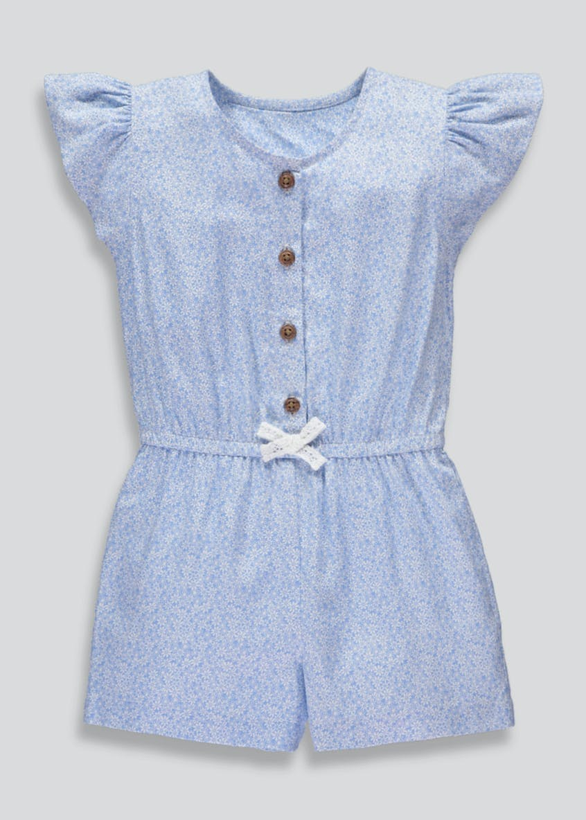 Girls Daisy Playsuit (3mths-6yrs)