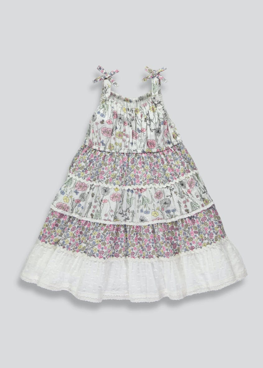 Girls Floral Tiered Dress (6mths-6yrs)