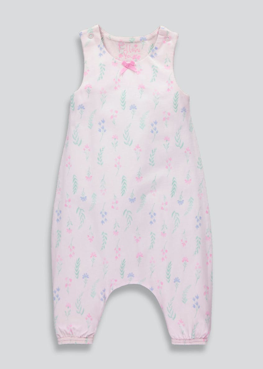 Girls Floral Romper (9mths-5yrs)
