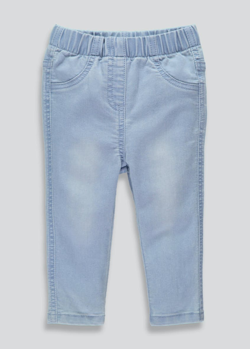 Girls Denim Jeggings (3mths-5yrs)