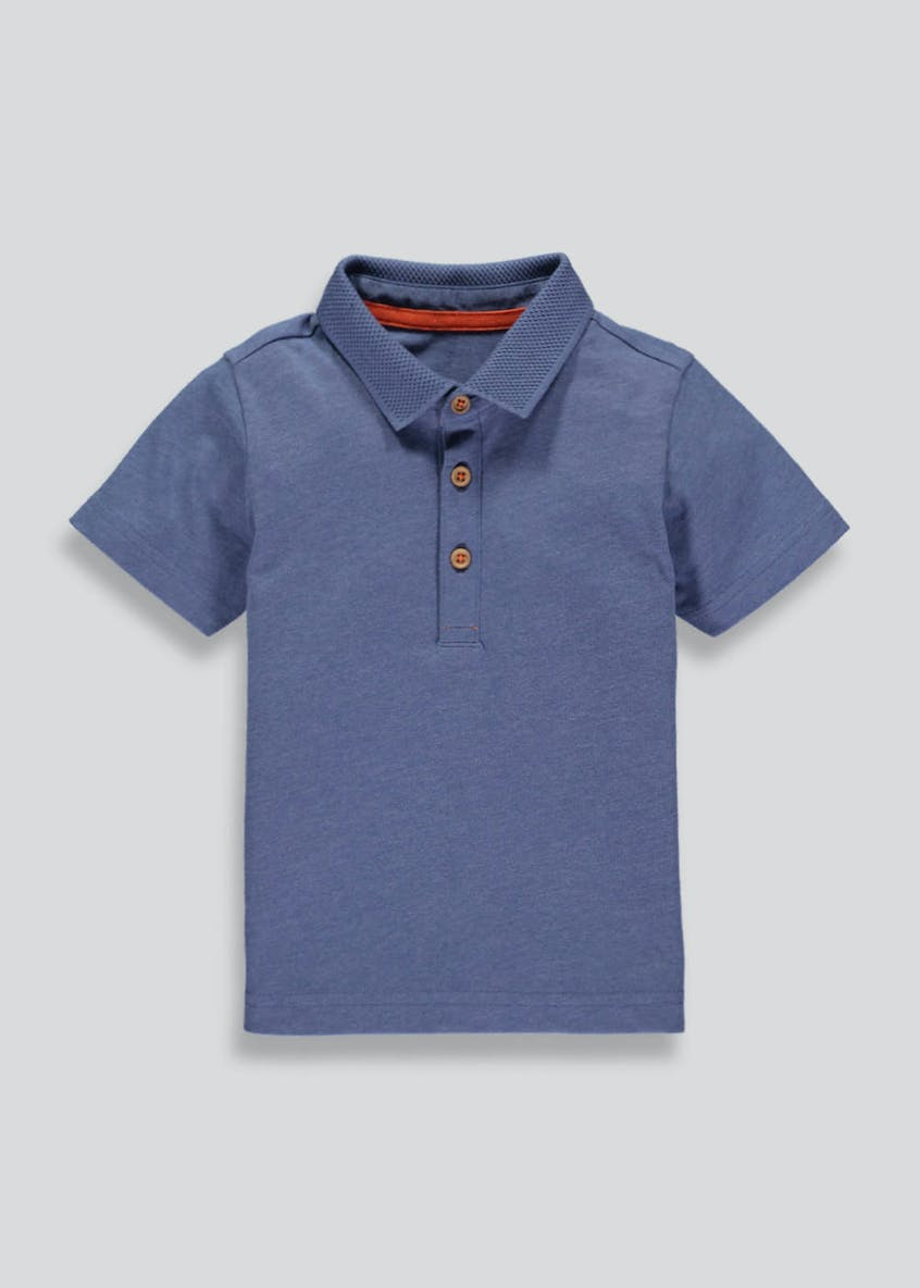 Boys Marl Polo Shirt (3mths-6yrs)