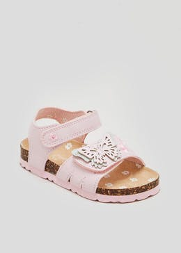 Girls Butterfly Footbed Sandals (Younger 4-12)