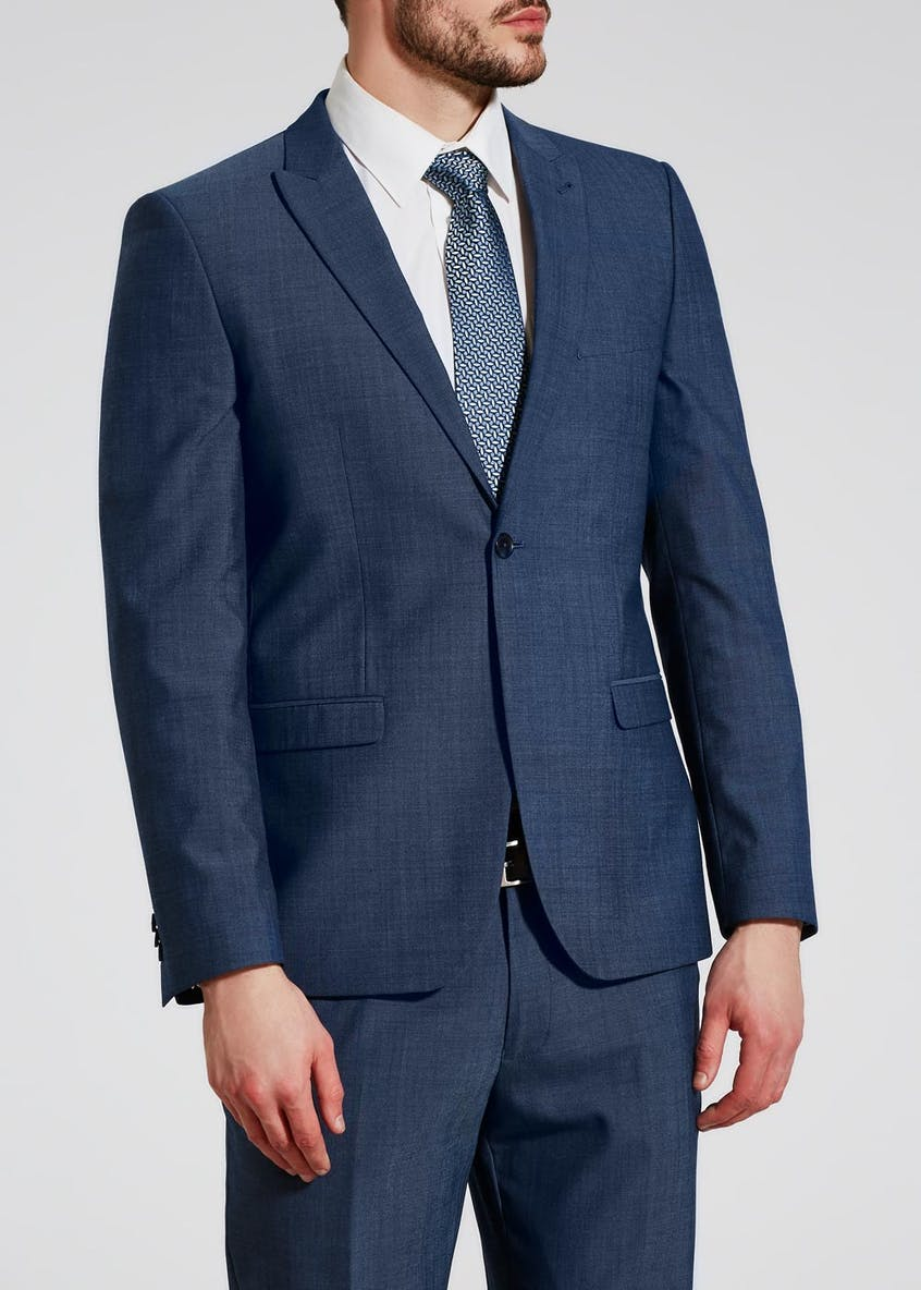 Franklin Wool Blend Slim Fit Suit Jacket