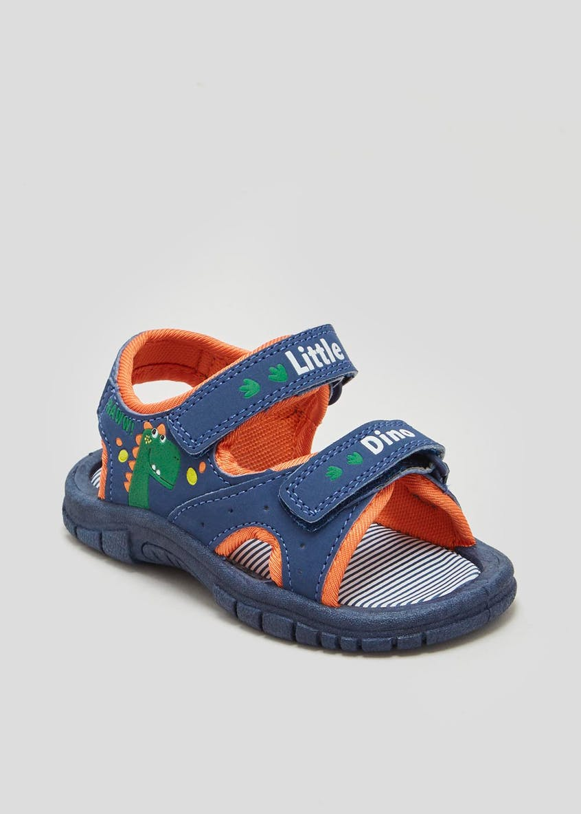 Unisex Dinosaur Adventure Sandals (Younger 4-9)