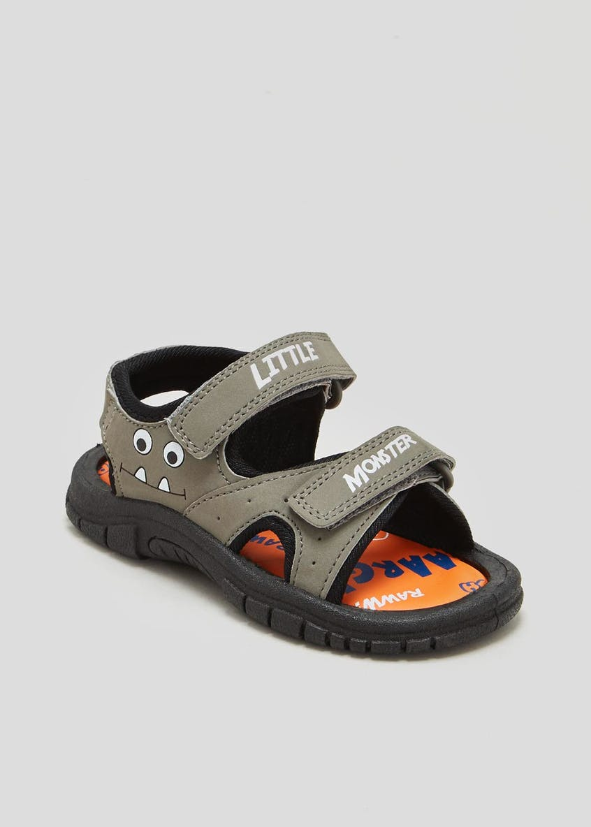 Unisex Monster Adventure Sandals (Younger 4-9)