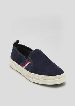 Boys Slip On Espadrilles (Younger 10-Older 6)