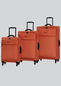 IT Luggage Lite Soft Trolley Suitcase