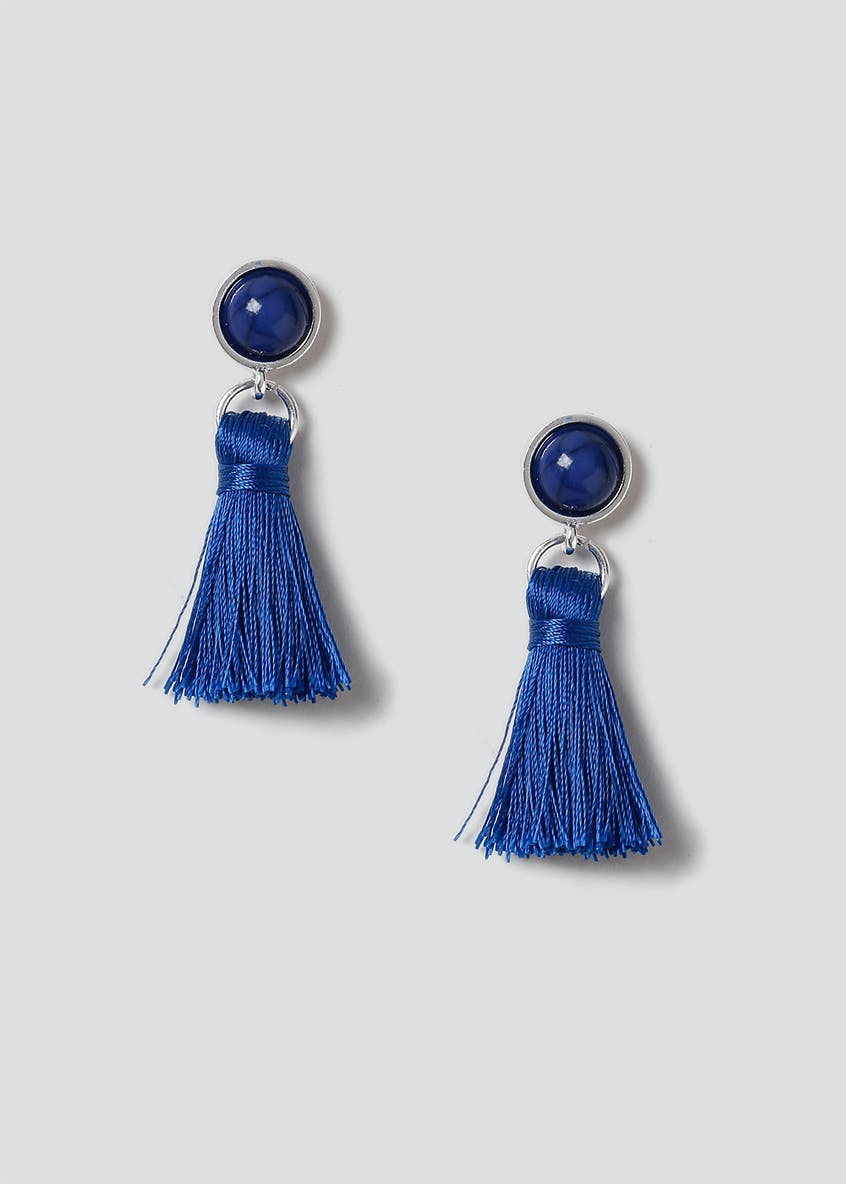 Mini Tassel Drop Earring