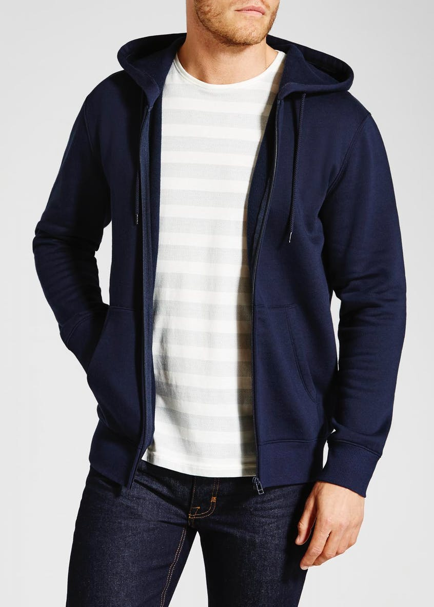 Big & Tall Zip Through Hoodie