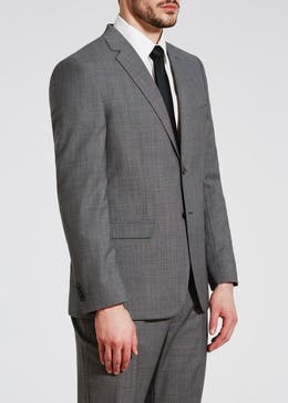 Edison Wool Blend Regular Fit Suit Jacket - JACKET & TROUSERS FOR £50